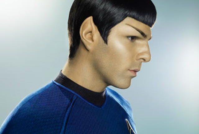 Zachary Quinto as Spock in Abrams' Star Trek