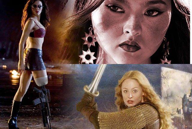 badass movie gals