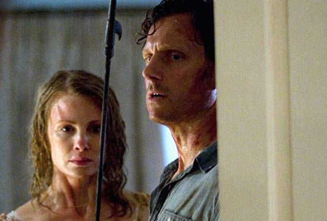 Monica Potter and Tony Goldwyn face off against their daughter's attackers in Last House On The Left.