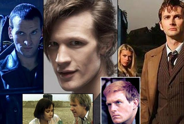 Doctor Who through the (mostly pretty young) ages...