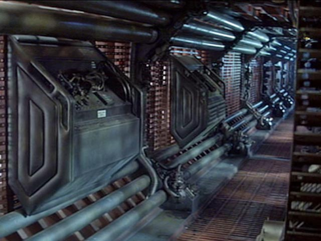 In praise of the sci-fi corridor - Den of Geek
