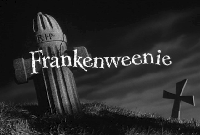 Tim Burton S Frankenweenie A Live Action Short With An Animated Future Den Of Geek