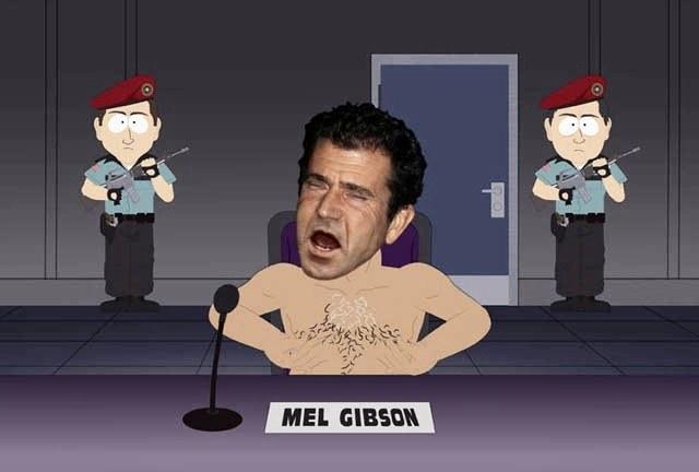 Mel Gibson via South Park