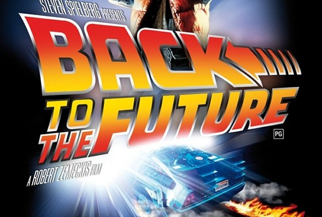 Back To The Future re-release poster