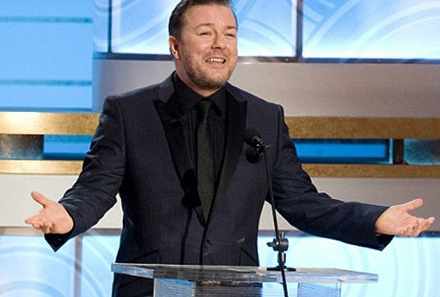 Ricky Gervais and the Golden Globes