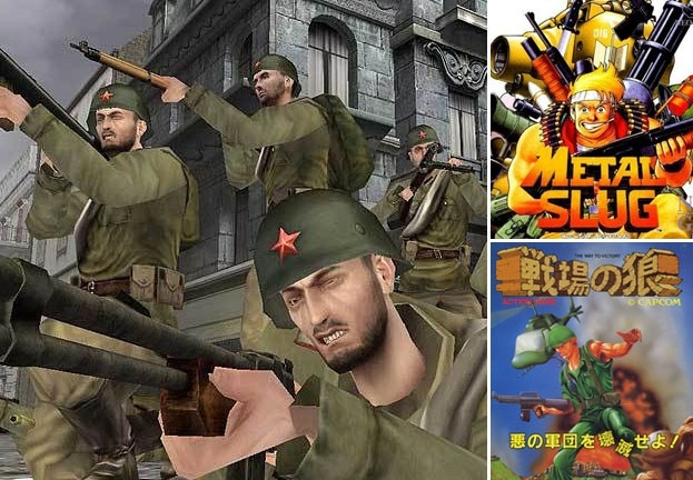 Soldier based games