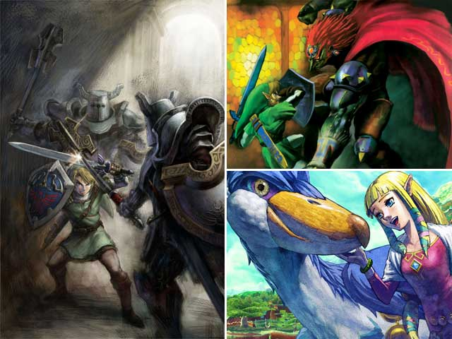 The Zelda Timeline Den Of Geek