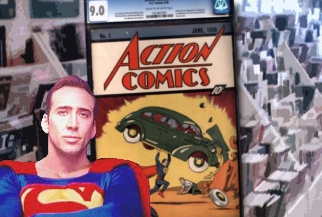 Action Comics 1 Nick Cage image