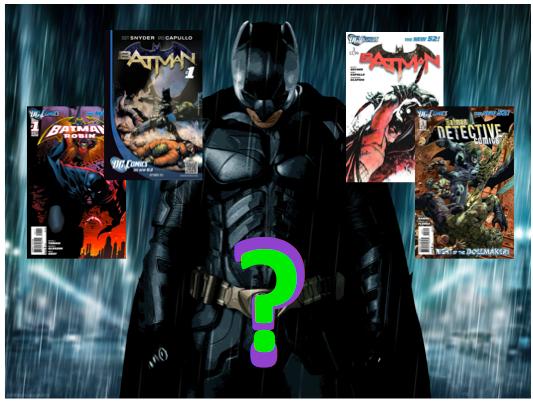 Batmansuggestions