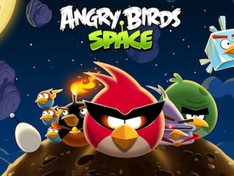 Angry Birds Space 22 March Rovio iPad iPhone Android