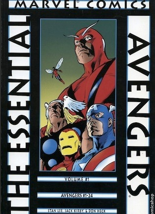 Essential Avengers volume one review