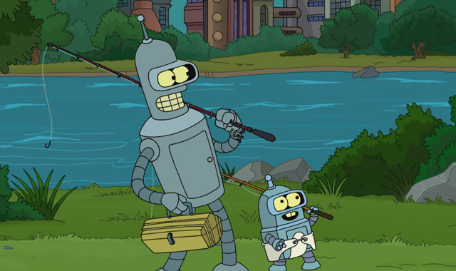 Futurama Season 7 Episodes 1 2 Review The Bots And The Bees A Farewell To Arms Den Of Geek
