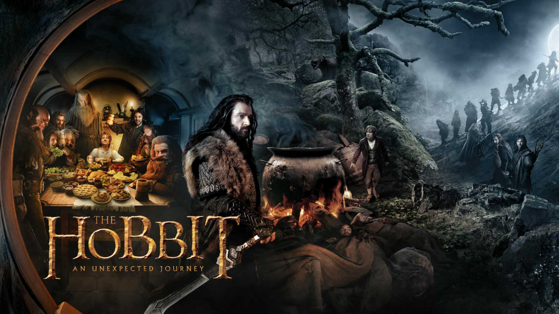 The Hobbit: An Unexpected Journey (2012) ျန္မာစာတန္းထုိး