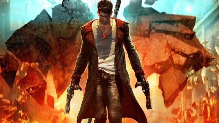 devil may cry box cover art Rating Pending version