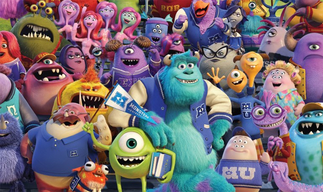 34 Geeky Things You Didn T Know About Monsters University Den Of Geek