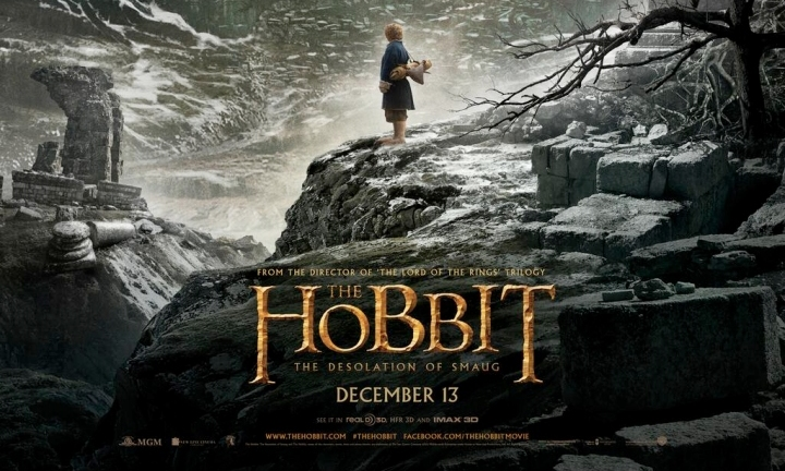 First poster for The Hobbit: The Desolation Of Smaug | Den of Geek
