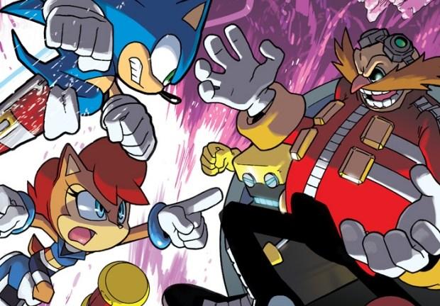 Sonic The Hedgehog #256 primary