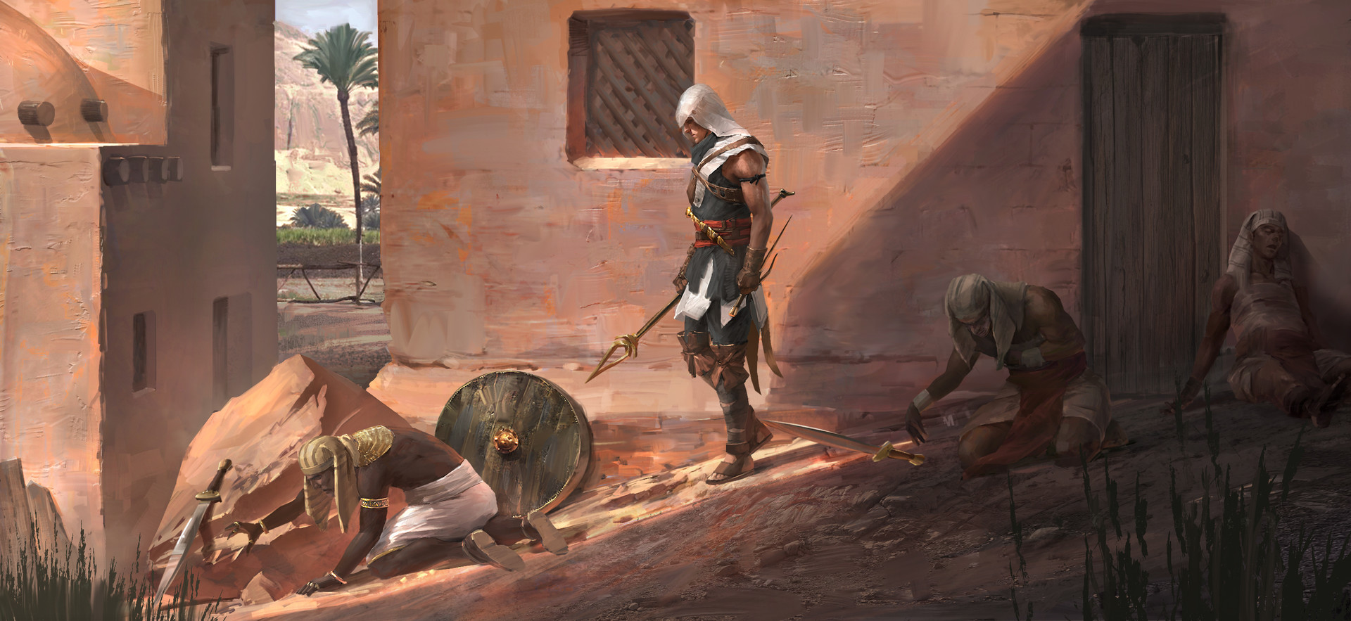 Assassin S Creed Origins And The Story So Far Den Of Geek