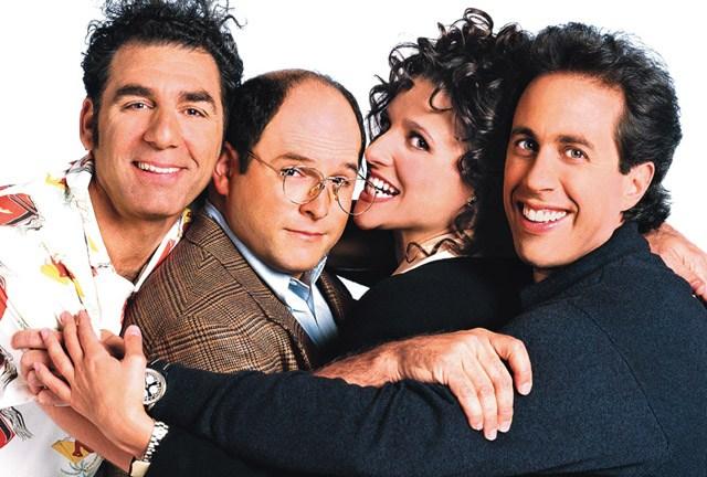 Kramer, George, Elaine & Jerry