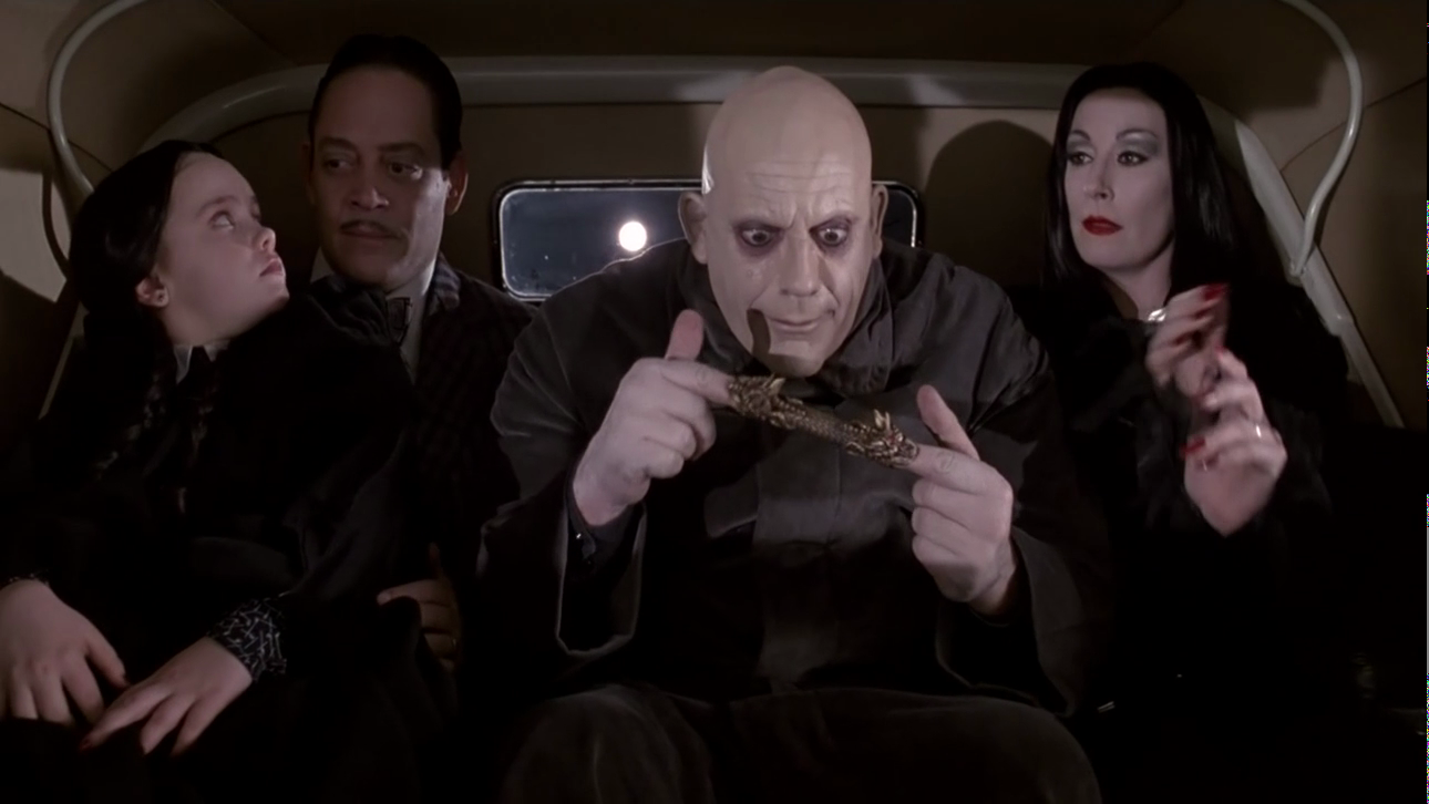 How 1991 S The Addams Family Nearly Got Derailed Den Of Geek