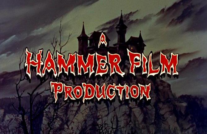 Hammer Films Title Card Horror Movies