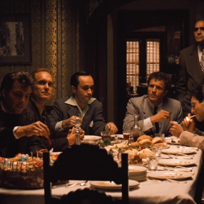 The Godfather Dinner Scene