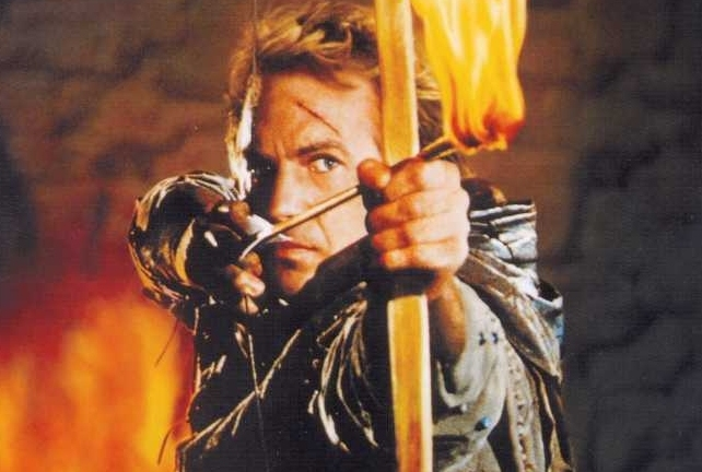 Robin Hood: Prince of Thieves Starring Kevin Costner
