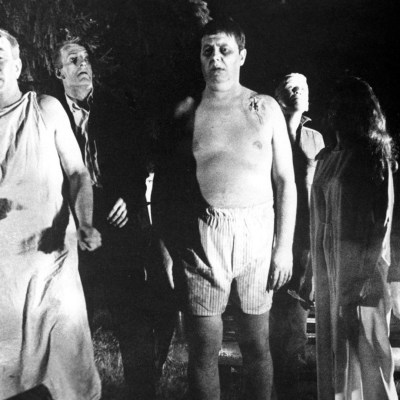 Zombies in George Romero's Night of the Living Dead