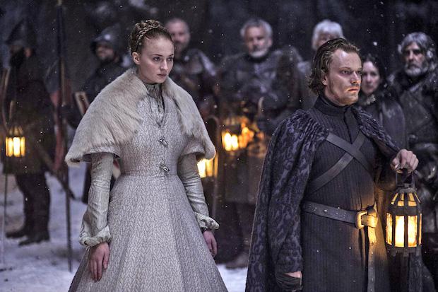 Sansa Marrying Ramsey Bolton