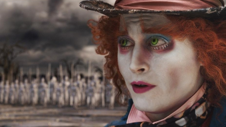 Johnny Depp as The Mad Hatter in Tim Burton's Alice In Wonderland