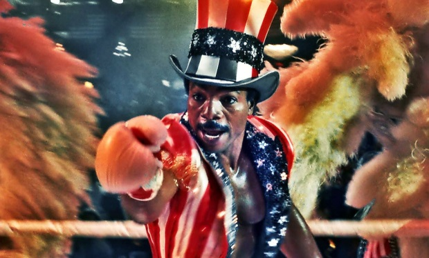 Carl Weathers as Apollo Creed in Rocky IV