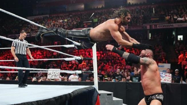 Seth Rollins vs. Randy Orton
