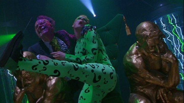Batman Forever Villains: The Riddler and Two-Face