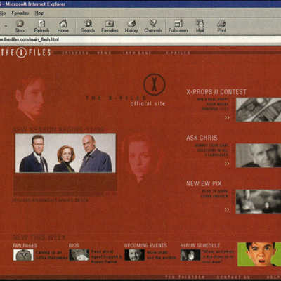 The X-Files Banner