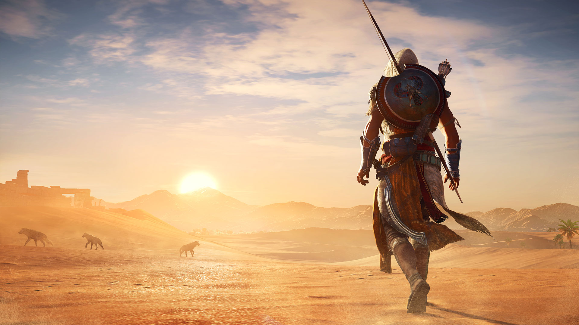 Assassin S Creed Origins Trailer Release Date Story Setting