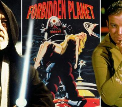 The Influence of Forbidden Planet on Star Trek and Star Wars