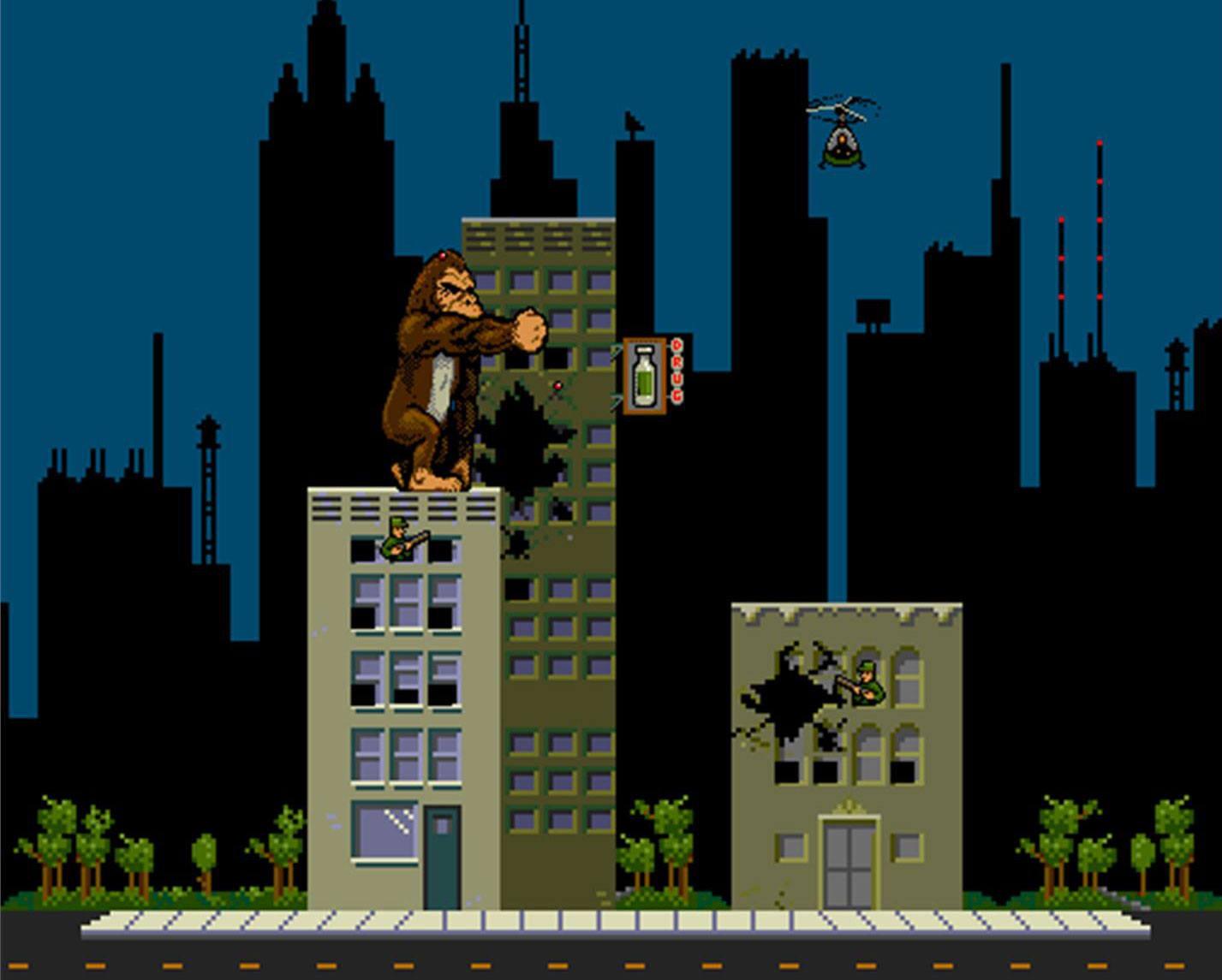 Rampage From Game To Feature Film Den Of Geek
