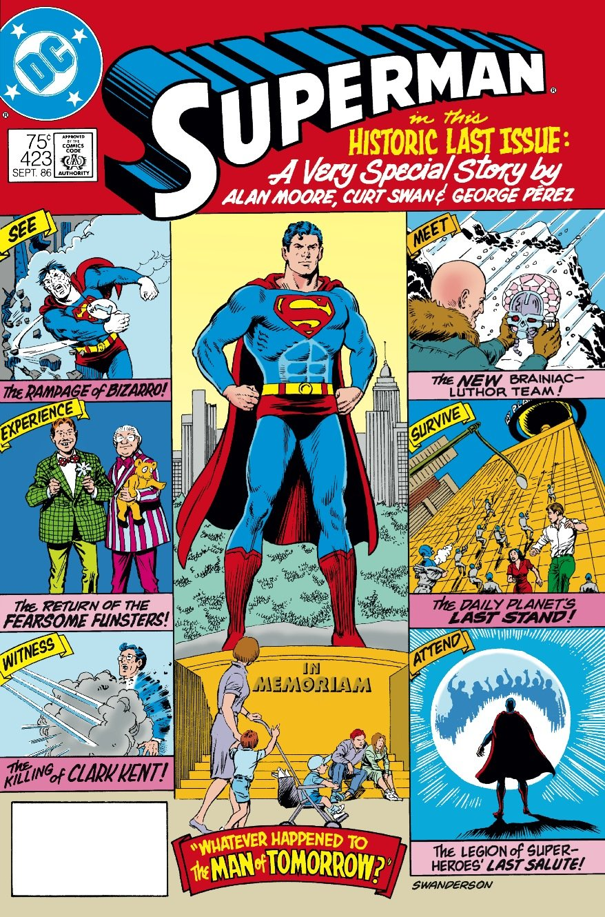 Superman #423 by Alan Moore