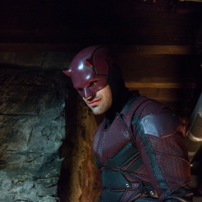 Charlie Cox as Marvel's Daredevil on Netflix