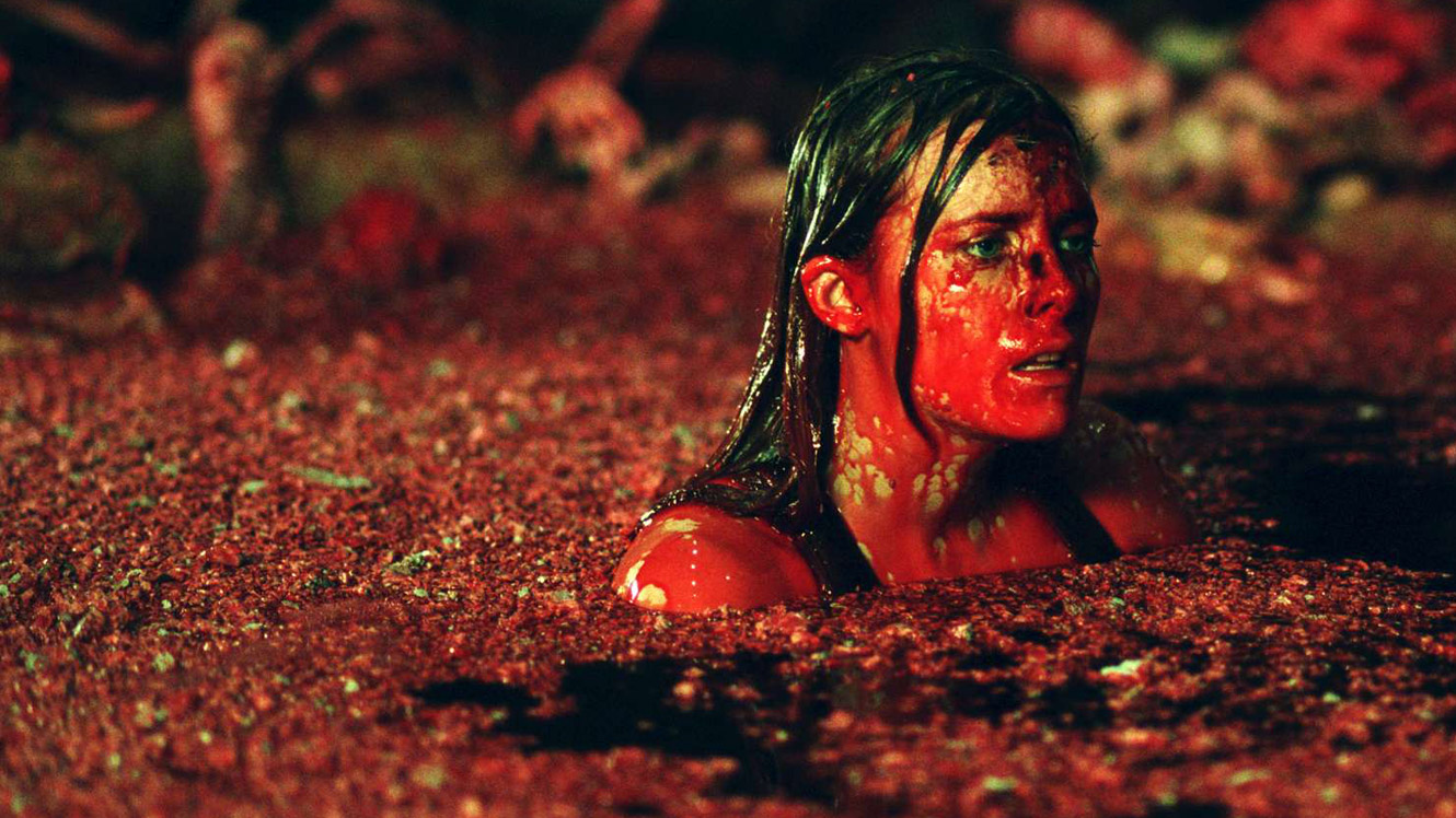9. The Descent: The studio cut off one minute from the end of the USA, which saw Sarah, the only survivor, escape from the cave. The UK's end showed that her escape was indeed a dream. She woke back up as Crawlers walked around her in the tunnels.