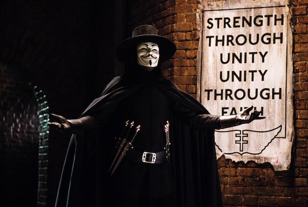The Creeping Reality Of V For Vendetta Den Of Geek