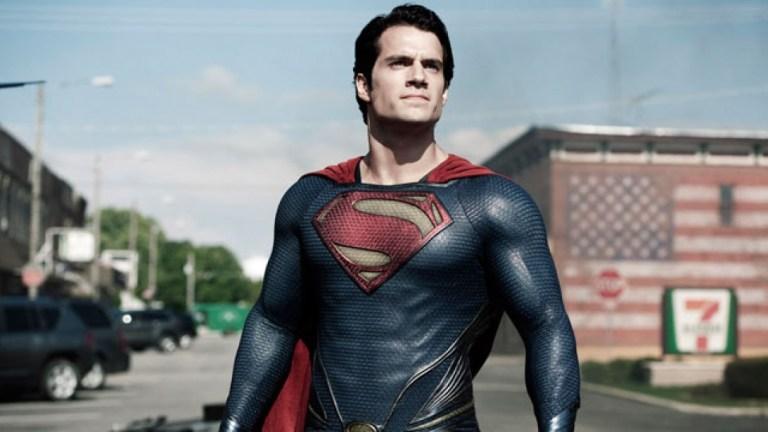 Henry Cavill as Superman in Man of Steel