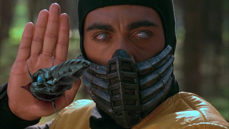Scorpion in Mortal Kombat Movie