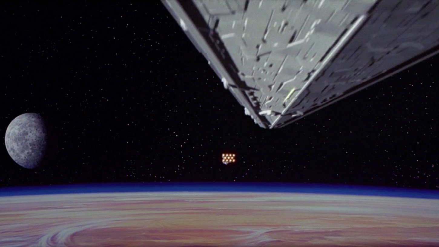 Star Wars A New Hope Examining The Classic Opening Shot Den Of Geek