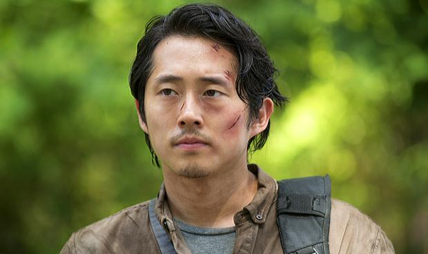 Steven Yeun in The Walking Dead