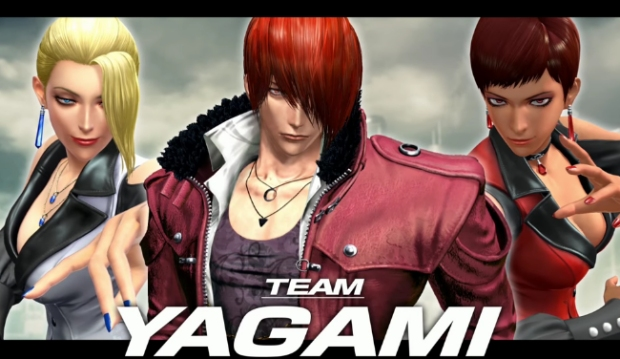 King Of Fighters Xiv Team Yagami Trailer Den Of Geek