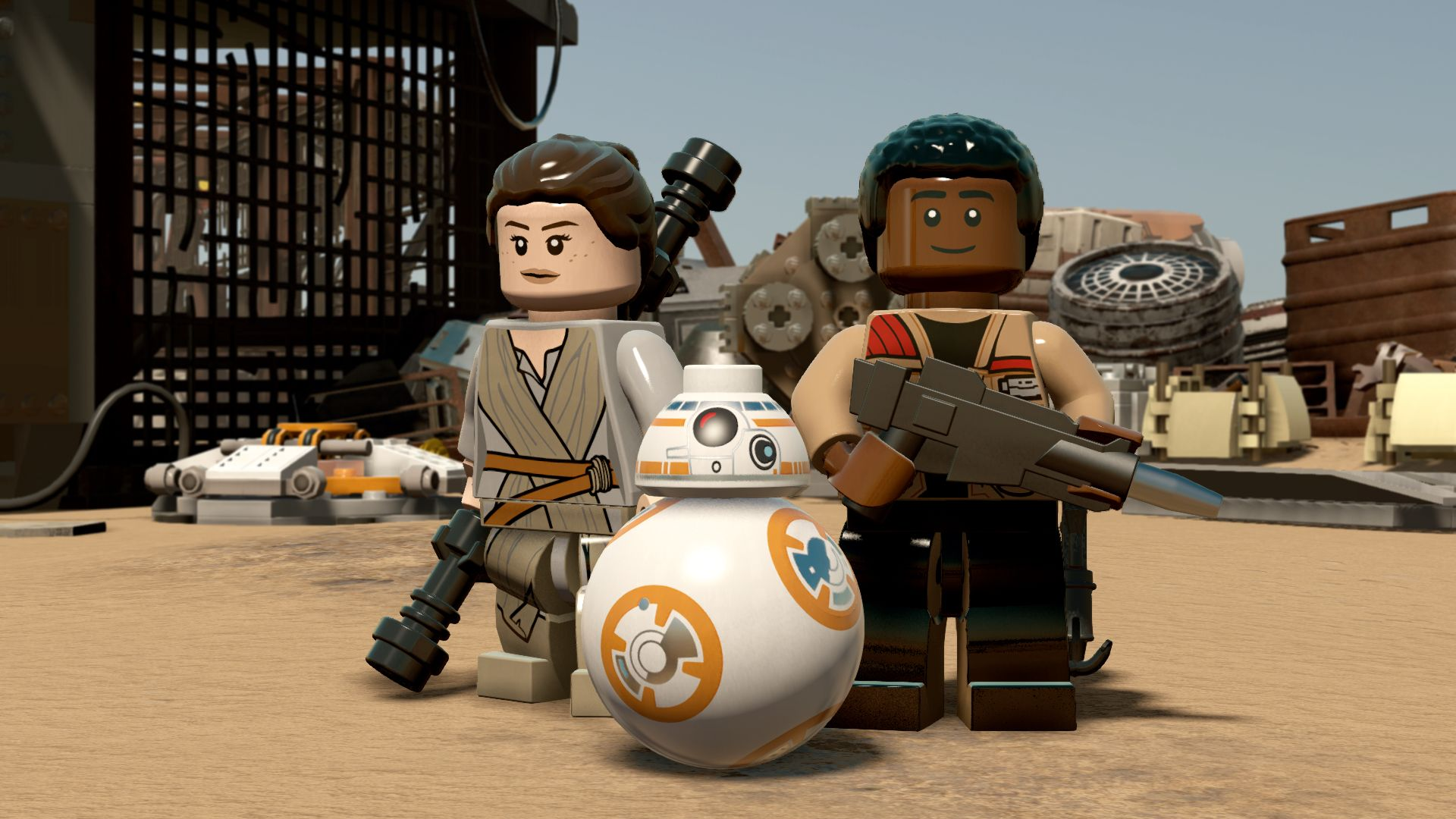 Lego Star Wars The Force Awakens Review Den Of Geek