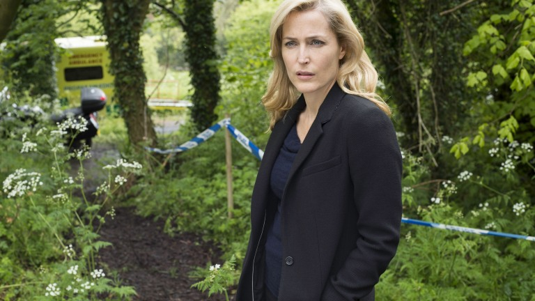 Gillian Anderson as Stella in The Fall