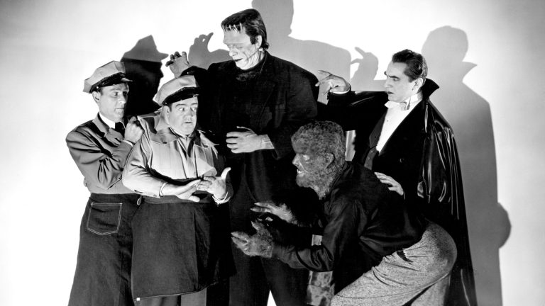 Abbott and Costello Meet Frankenstein, The Wolf Man, and Bela Lugosi as Dracula