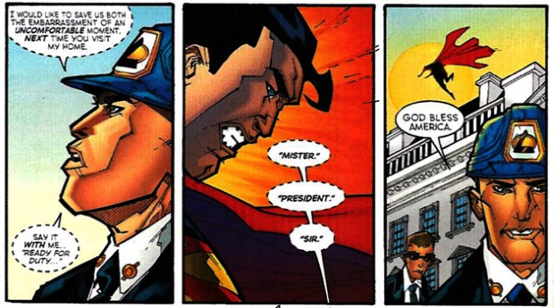 Lex Luthor And The Three Times He Was Elected Us President Den Of Geek